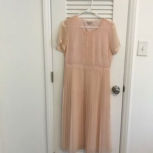 Broadway and Broome for Madewell sz6 pleated dress